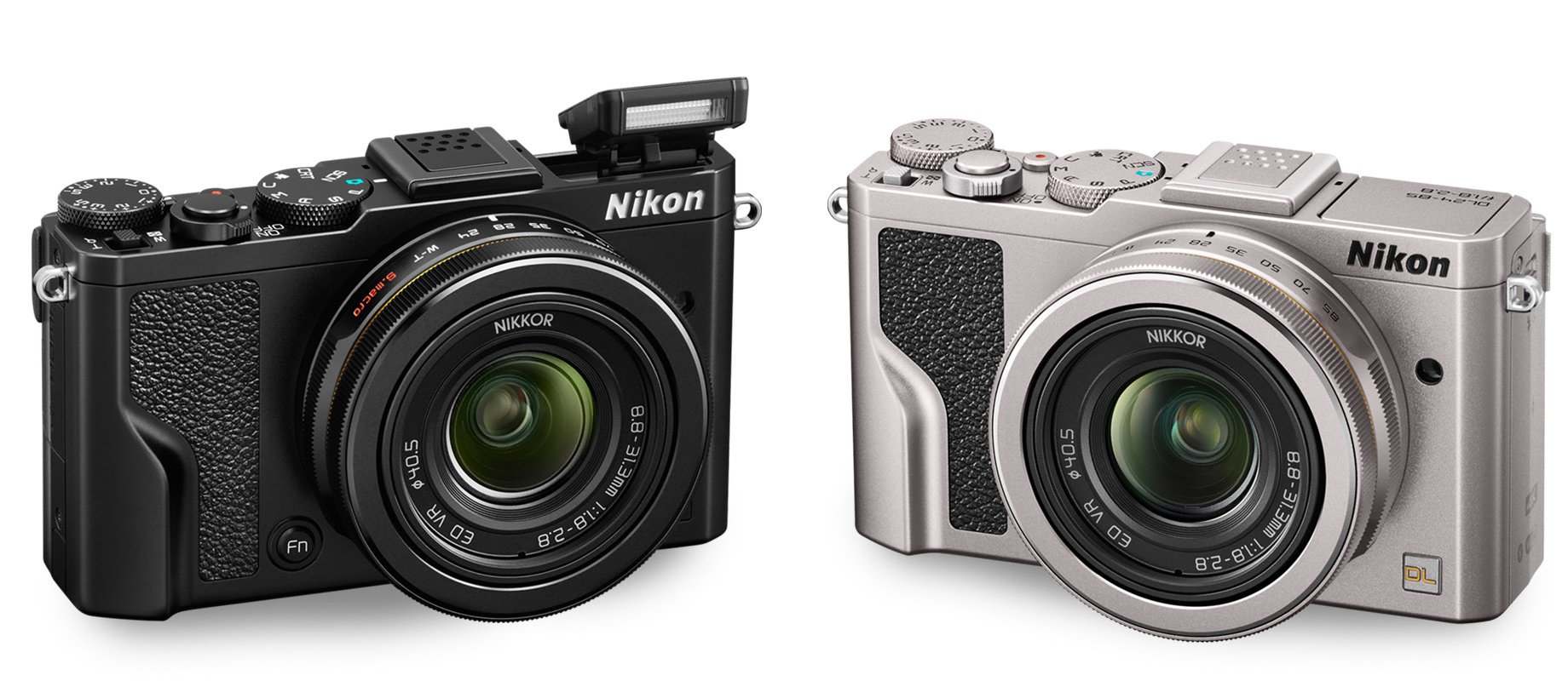 Camera Nikon Smallest Dslr Camera nikon dl24 85 premium compact i am into details 247 dslr users and the lens is detailed with signature gold nikkor ring an optional leather camera case available in classic black